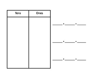 Working with tens and Ones