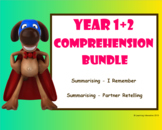 Working with the Super Six - Comprehension Bundle - Summarising - Year 1+2