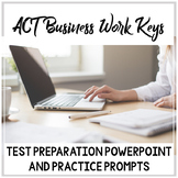 Workkeys Business Writing Test Prep: Overview PowerPoint,