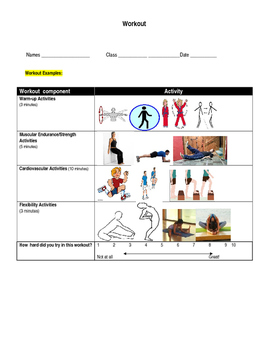 Instant Activity Workout