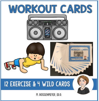 Workout Exercise Cards