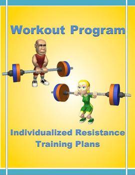 Workout Program- Individualized Resistance Training Plans