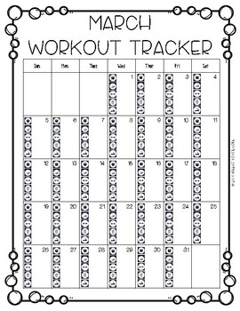 Workout Tracker and Planner