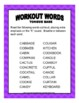 Workout Words-TONGUE BASE: Oral motor exercises with the cognitively impaired