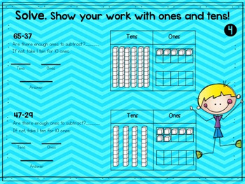 Workout with Subtraction with Regrouping Unit Review