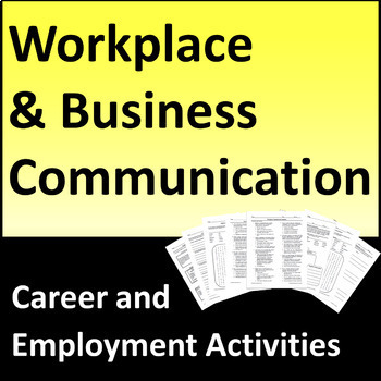 Workplace and Business Communication Activities