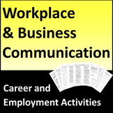 Business and Workplace Communication Activities