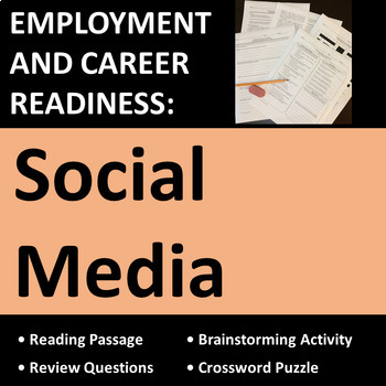 Employment & Career Readiness: Social Media Activities