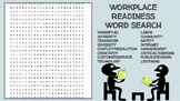Workplace Readiness Skills Word Search; FACS, Career Technical, CTE, Bellringer