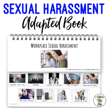 Workplace Sexual Harassment Adapted Interactive Book