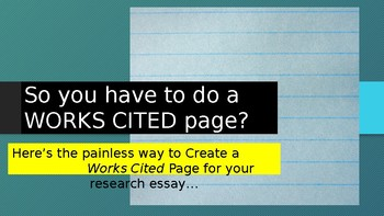 Works Cited How to