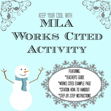 Works Cited Lesson and Activity