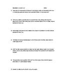 Worksheet - 1.1.2 & 1.1.3 Fundamental Units and Unit Analysis