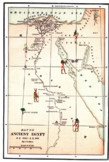 Worksheet ANCIENT EGYPT Latitude Longitude Questions & Map