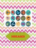 """""""Diseases"""" Worksheet - Lifes skills"""