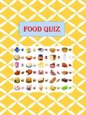 """Food Quiz"" Worksheet - Lifes skills"