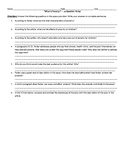 "Worksheet - Analysis of ""What is Poverty"" (The Outsiders Unit)"