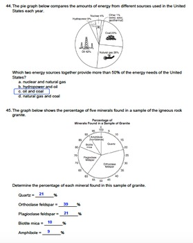 Worksheet - Analyzing Data and Graphs (Editable)