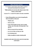 Worksheet : Beach and Water Safety