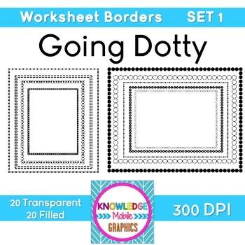 Worksheet Borders