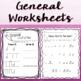 Music Worksheet Bundle: Half Note