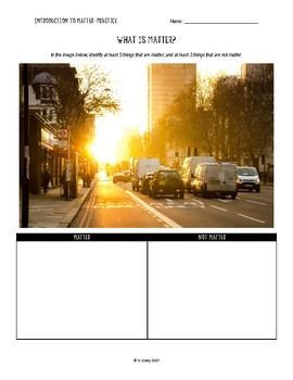 Worksheet Bundle: Introduction to Matter