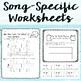 Music Worksheet Bundle: Low La