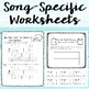 Music Worksheet Bundle: Low La