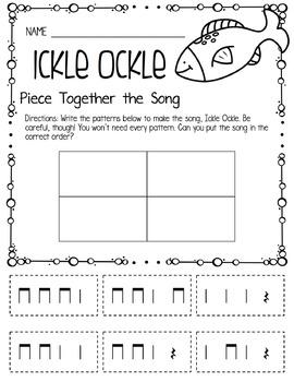 Music Worksheet Bundle: Rest