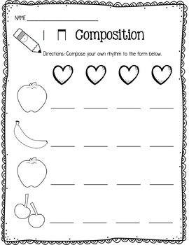Music Worksheet Bundle: Ta and Ti-Ti