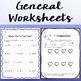 Music Worksheet Bundle: Ti Ta Ti (Syncopa / Syncopation)