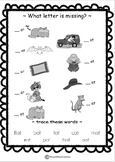 Worksheet - Can you Find the Missing Letter?
