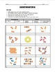 Worksheet - Classifying Matter Through Pictures of Atoms (2 Worksheet Set!)