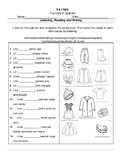 10. The clothes in Spanish - (Belongs to SPANISH A1 LEVEL