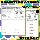 Worksheet: Counting Atoms ADVANCED Version A