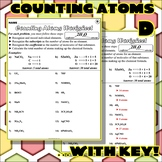 Worksheet: Counting Atoms Version D