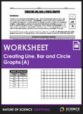 Worksheet - Creating Line, Bar and Circle Graphs (Part 1)