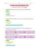 Worksheet - Distance Speed Time Word Problems (Part 3)