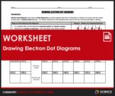 Worksheet - Drawing Electron Dot or Lewis Dot Diagrams