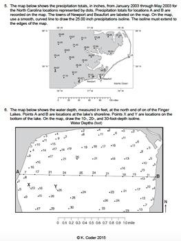 Worksheet - Drawing Isolines *Editable*