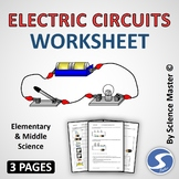 Electric Circuits Worksheet