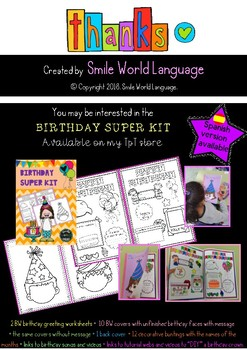 FREE Worksheet English Circle Time Asamblea Inglés