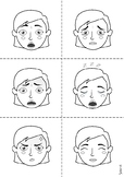 Worksheet: Flashcards for emotions