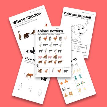 Worksheet Freebies for Preschool