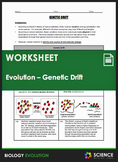 Evolution - Genetic Drift, Bottleneck Effect, and the Foun