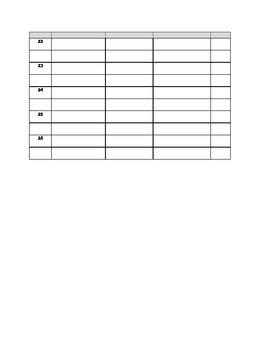 Worksheet Grammar Blocks - Spanish Immediate Future