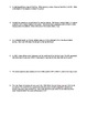 Worksheet - Gravitational Potential Energy (GPE) Word Problems (Part 2)
