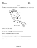 Worksheet - Volcanic Hot Spots *Editable*