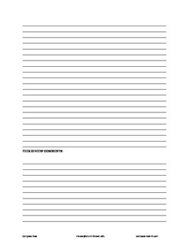 Worksheet - How to Approach A.P. Poetry Prompts