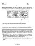 Worksheet - Hurricanes *Editable*